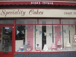 Speciality Cakes Is A Small Family Run Business Based In The Village Of Knaphill Surrey Owned By Mother And Daughter Team Rosmary Sarah Trudgett